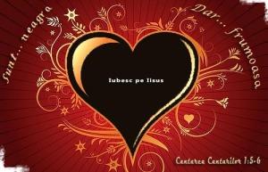 Dark loveley heart with vectors